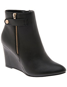 Wedge ankle boot by LANE BRYANT