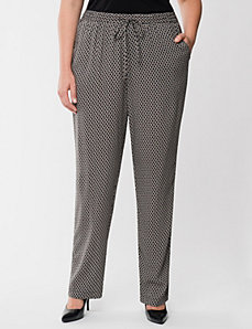 Chain print soft pant by LANE BRYANT