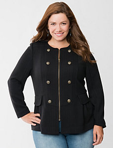 Military jacket by LANE BRYANT