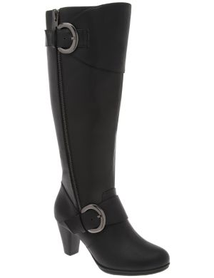 Heeled dress boot