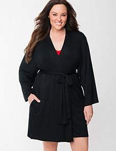 Tru to You short robe by LANE BRYANT