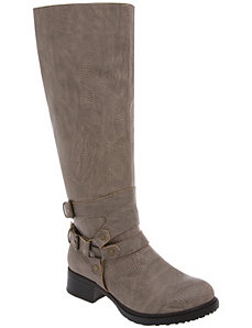 Harness riding boot by Lane Bryant