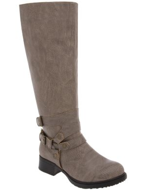 Harness riding boot
