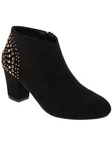 Studded back bootie by LANE BRYANT