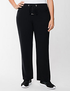 French terry active pant by LANE BRYANT