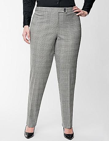 glen plaid pants - Pi Pants