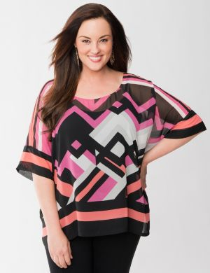Lane Collection printed square top