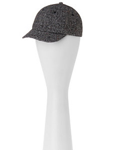 Tweed ball cap by LANE BRYANT