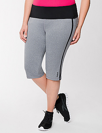 Roll down waist capri by Reebok