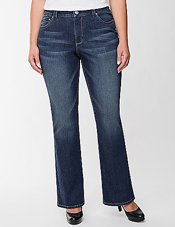 Genius Fit? slim boot jean