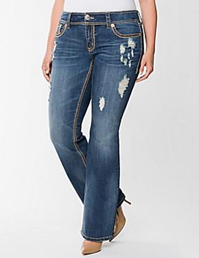 Plus Size Jeans Bootcut Ye Jean