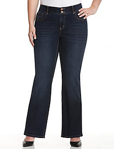 Bootcut jean with Tighter Tummy Technology by Lane Bryant