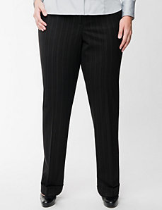 Lena striped pant with Tighter Tummy Technology by LANE BRYANT