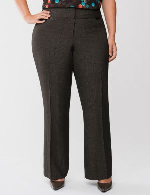 Lena glen plaid classic leg pant