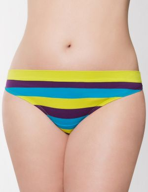 Sassy cotton thong with comfort waistband