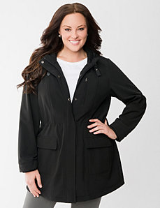 Soft shell jacket by Lane Bryant
