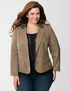 Jeweled collar jacket by LANE BRYANT