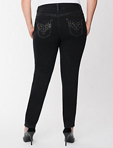 Deco skinny jean by LANE BRYANT