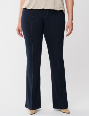 Lane Collection seamed slim boot jean