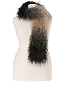 Faux fur scarf by LANE BRYANT