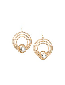 Lane Collection knotted hoop earrings by LANE BRYANT