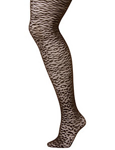 Animal patterned tights by LANE BRYANT