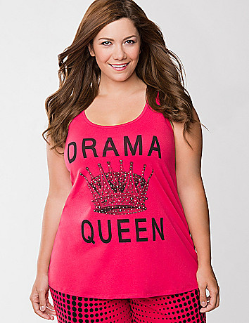 Drama Queen sleep tank
