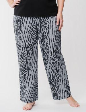 Zebra woven sleep pant