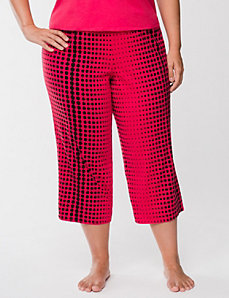 Graduated dots sleep crop by LANE BRYANT