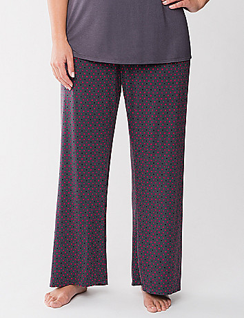 Tru to You polka dot sleep pant
