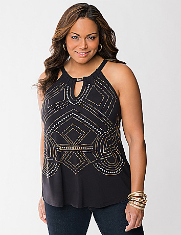 Tribal studded  tank