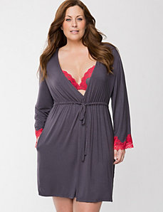 Tru to You robe by LANE BRYANT