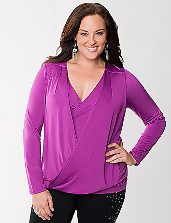 Lane Collection surplice top