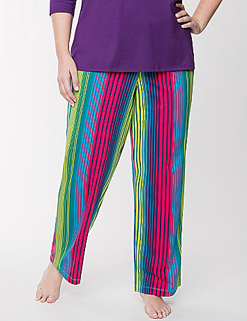 Striped sleep pant