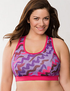 PlayDry short bra top by Reebok by LANE BRYANT