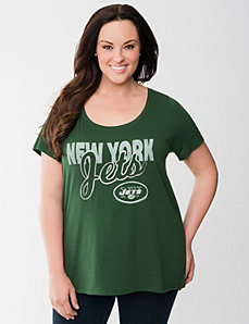 New York Jets graphic tee by LANE BRYANT