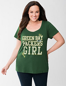 Green Bay Packers graphic tee by LANE BRYANT