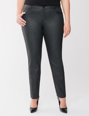 Lane Collection coated skinny jean