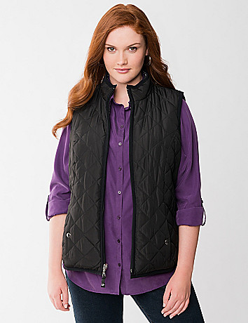 Reversible packable vest