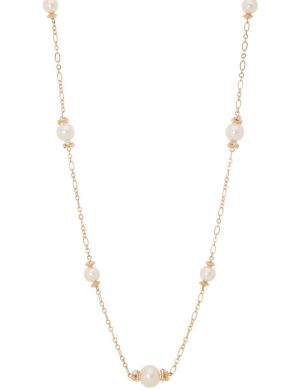Pearl station necklace by Lane Bryant