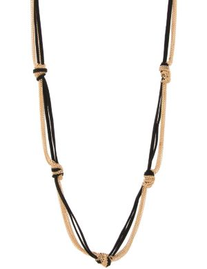 Knotted chain necklace by Lane Bryant