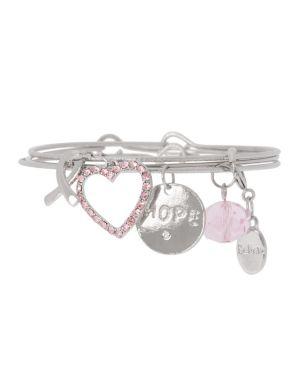 Awareness hope charm bracelet by Lane Bryant