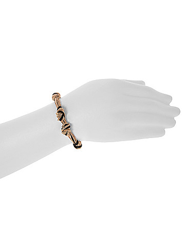 Knotted chain bracelet by Lane Bryant