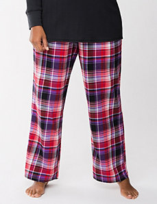 Plaid twill sleep pant by LANE BRYANT