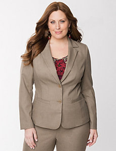 Tailored Stretch fitted jacket by LANE BRYANT