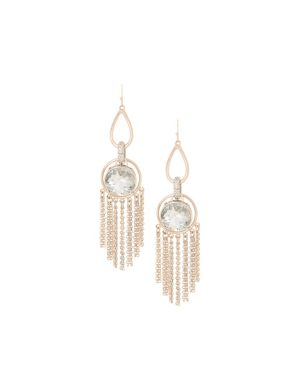 Lane Collection stone & tassel earrings