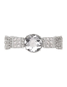 Lane Collection glass stone bracelet by LANE BRYANT