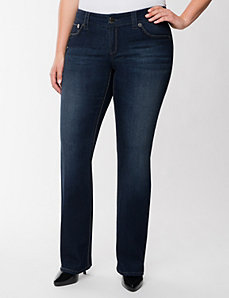 Double stitch bootcut jean by Seven7