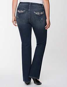 Genius Fit pearl slim boot jean