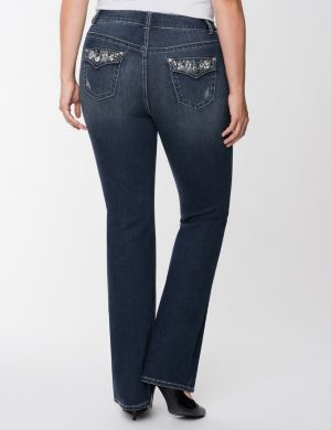 Genius Fit™ pearl slim boot jean